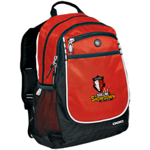 Load image into Gallery viewer, Manitoba Wildlings at The Sideline Showdown Series Rugged Bookbag