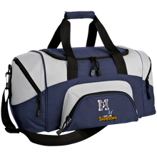 Load image into Gallery viewer, Omaha Patriots at The Sideline Showdown Series Small Colorblock Sport Duffel Bag