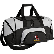 Load image into Gallery viewer, Manitoba Wildlings at The Sideline Showdown Series Small Colorblock Sport Duffel Bag