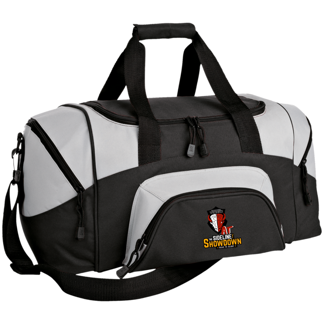 Manitoba Wildlings at The Sideline Showdown Series Small Colorblock Sport Duffel Bag