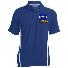 Load image into Gallery viewer, MN Chiefs at The Sideline Showdown Series Men's Colorblock 3-Button Polo