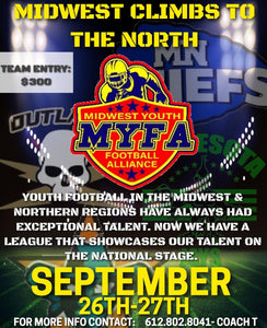MYFA Tournament (Partner League) - Team Registration (Minnesota)