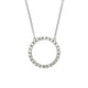NADINE - 0.10ct Circle of Life Diamond Necklace