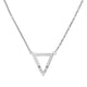 ISADORA - 0.02ct Diamond Triangle Necklace