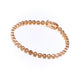 Sybella Small cubic zirconia rose gold plate tennis bracelet