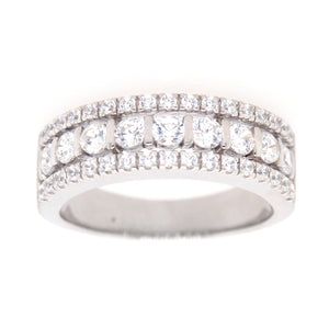 Sybella Classic Elegance Cubic Zirconia Dress Ring in Sterling Silver