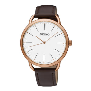 Seiko ladies' quartz analogue watch SUR234P