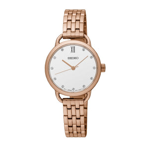 Seiko ladies' quartz analogue watch SUR698P
