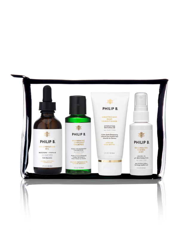 Travelsize Four Step Hair+Scalp Treatment Set