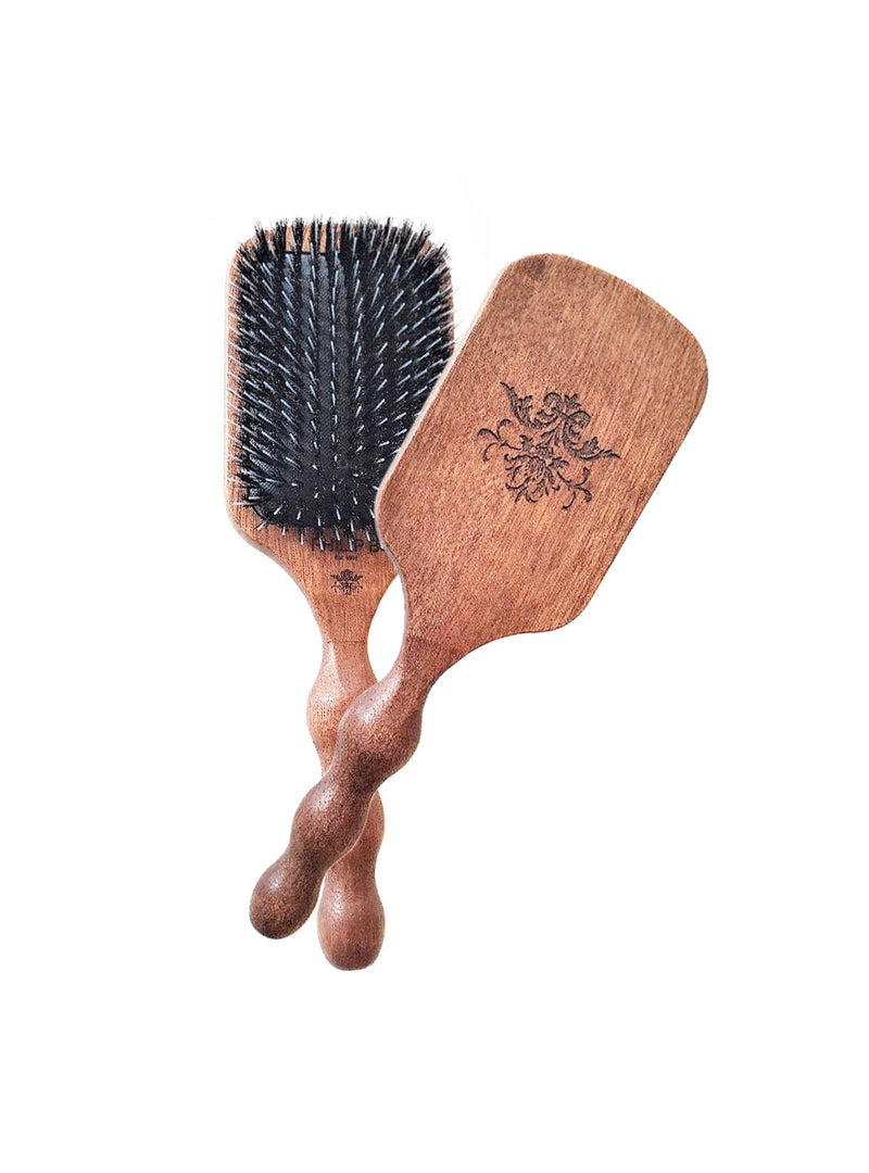 Paddle Hair Brush with Nylon Bristles