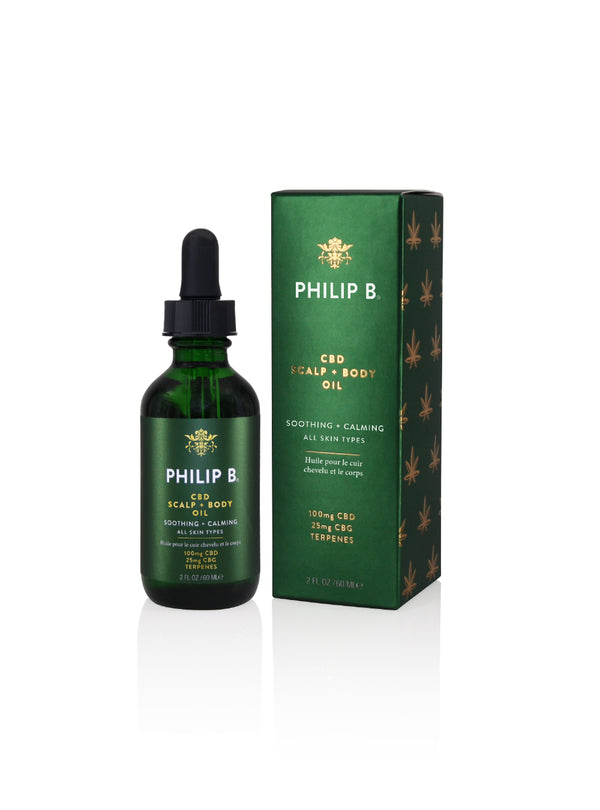 PHILIP B® CBD SCALP + BODY OIL
