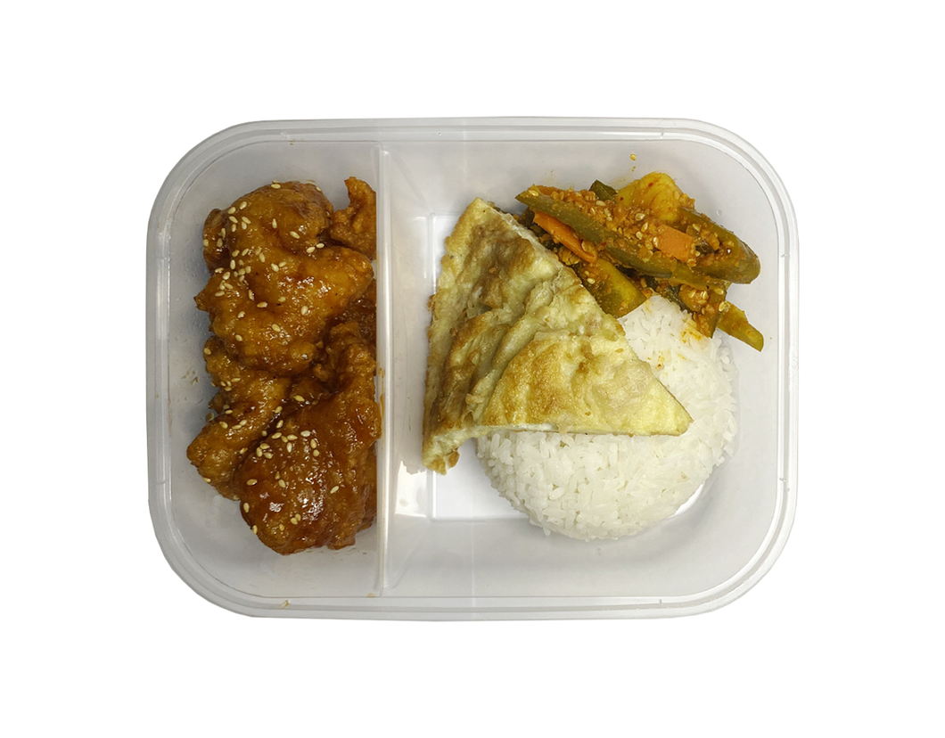 TZE CHAR PORK RICE SET