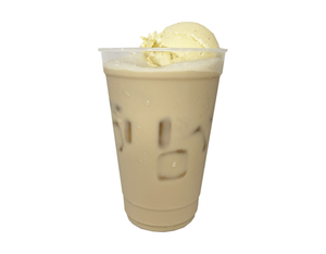 VANILLA ICE CREAM MILK TEA