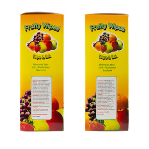 Three 144 Count Boxes (432 Wipes) - Fruity Wipes