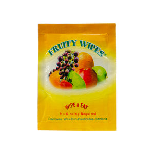 One 30 Count Box (30 Wipes) - Fruity Wipes