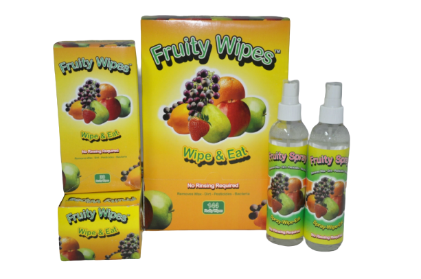 Family Pack - Fruity Wipes
