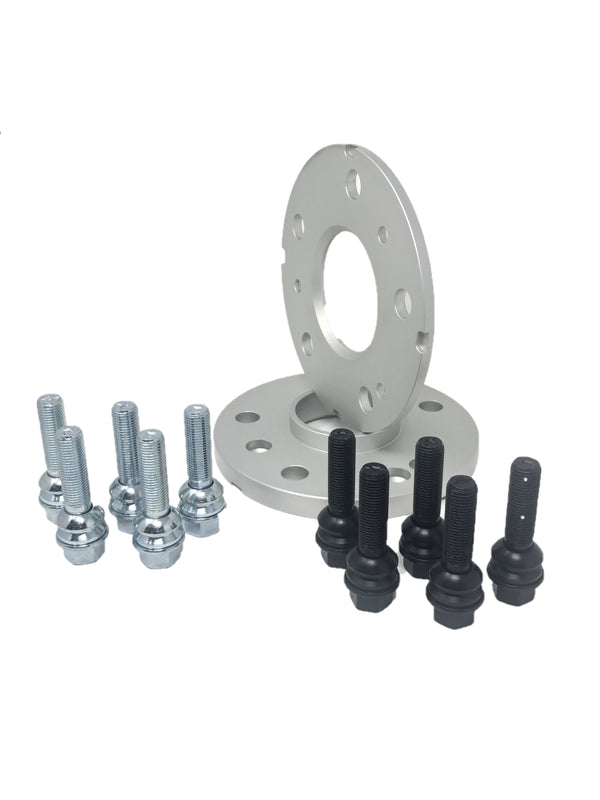 PORSCHE WHEEL SPACERS KIT WITH BOLTS STAGGERED 7MM (FRONT)/15MM (REAR)  Boxster