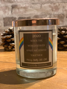 2020 - When the World Stayed Apart, We Stayed Together - Rainbow