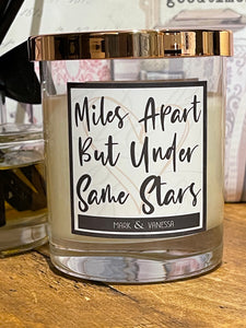 Miles Apart But Under Same Stars (Personalised)