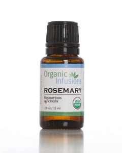 Organic Infusions Rosemary Essential Oil