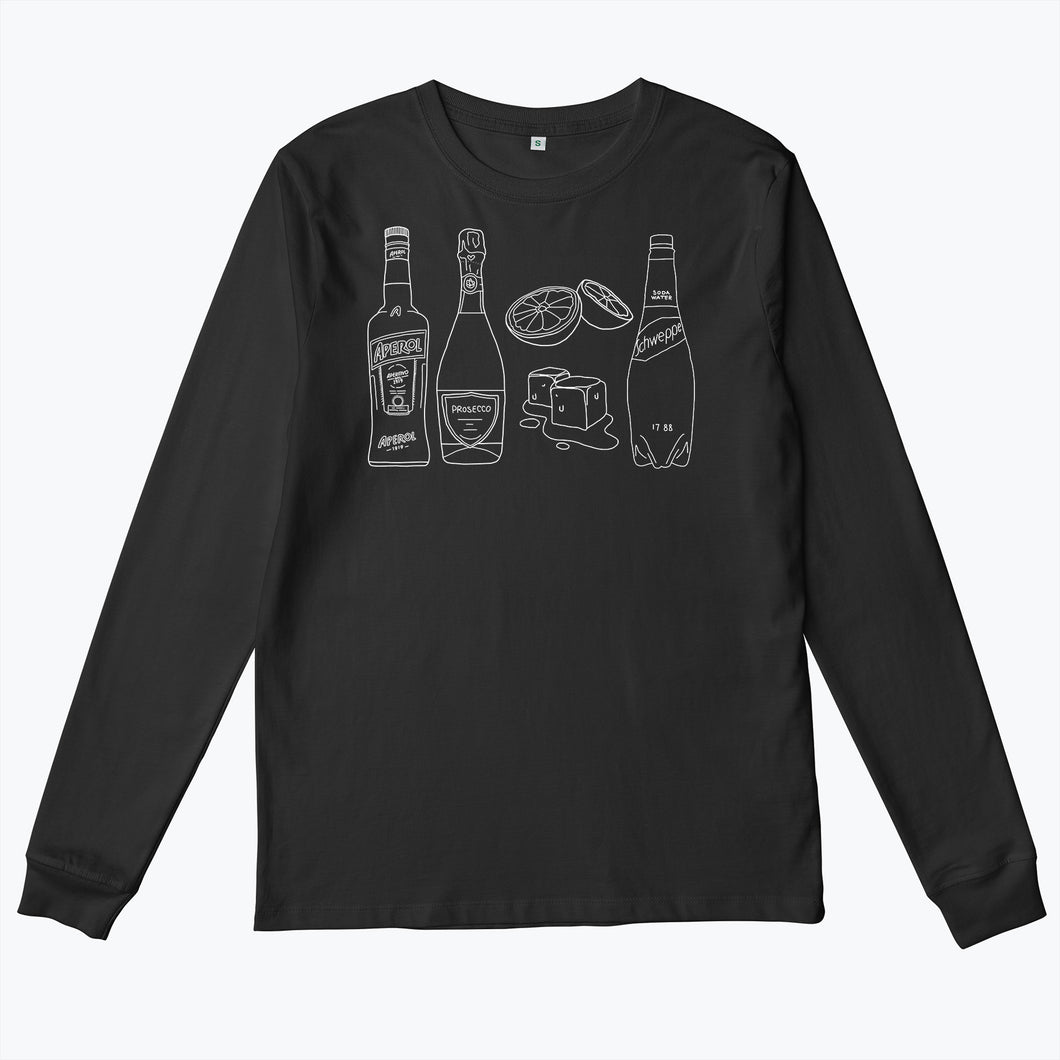 Aperol Spritz Long sleeve (Black)