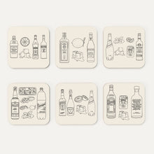 Load image into Gallery viewer, Summer Cocktail Coasters (Pack of 6)