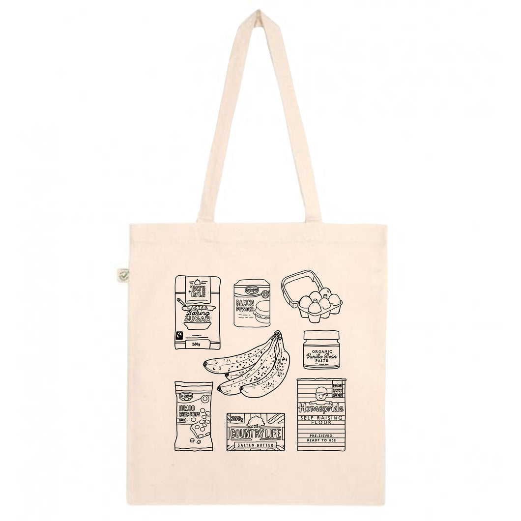 Banana Bread Tote Bag
