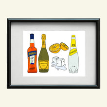 Load image into Gallery viewer, Aperol Spritz print A4