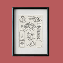 Load image into Gallery viewer, Gazpacho print A5