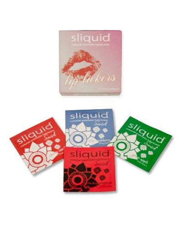 Sliquid Lip Lickers Flavored Lube Cube Pack