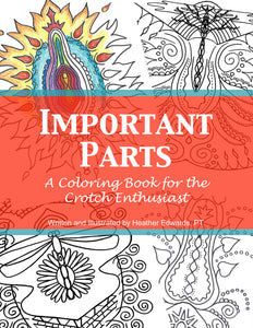 Crotch Coloring Book