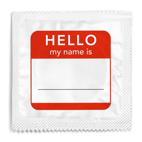 Funny Condoms - Hello