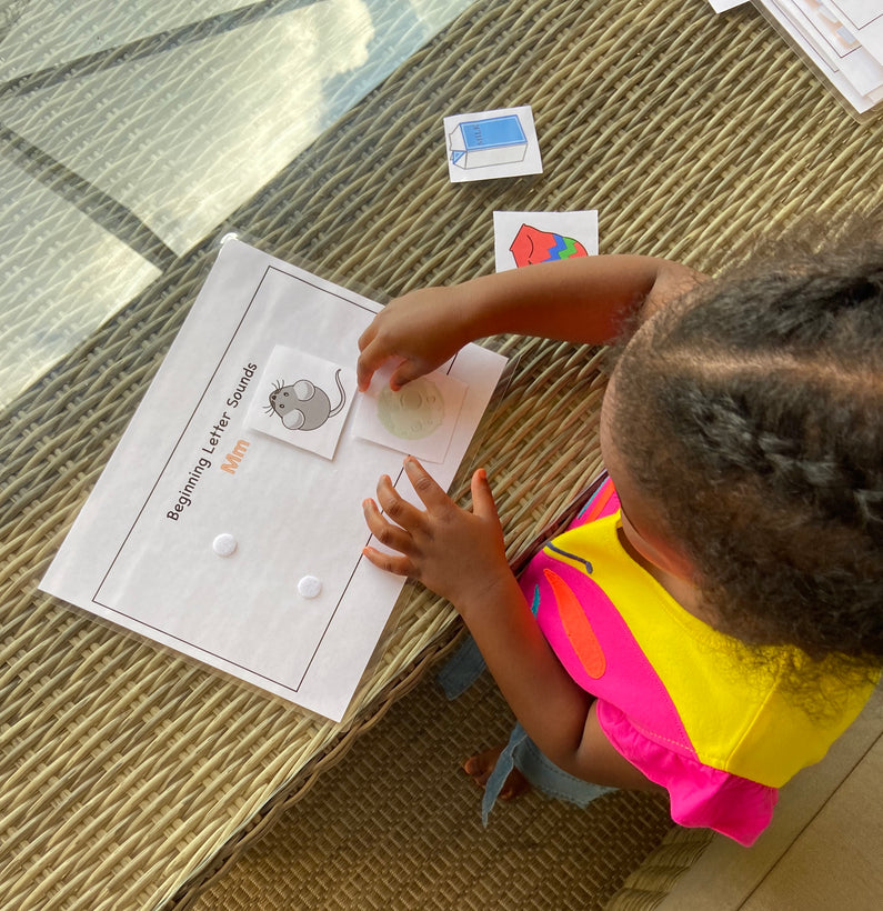 Preschool Learning Packets