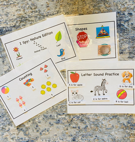Preschool Summer Learning Packet