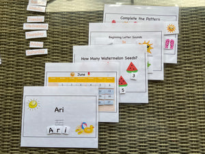 Preschool Learning Packet Plus
