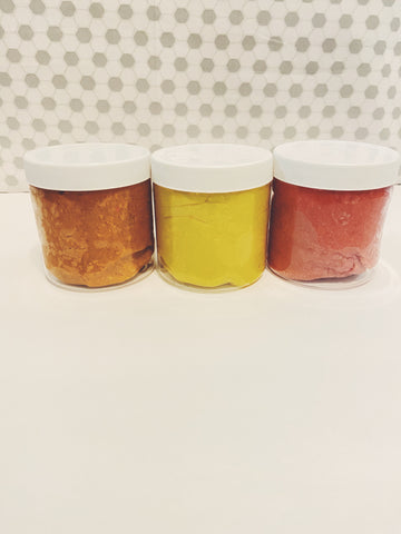 Scented Play Dough Jars