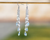 Luna Crystal Rain Earrings