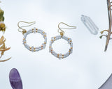 Blanca Moonstone Earrings