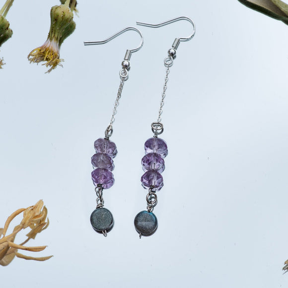 Illusion Gemstone Earrings