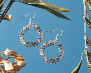 Enchanted Gemstone Hoops