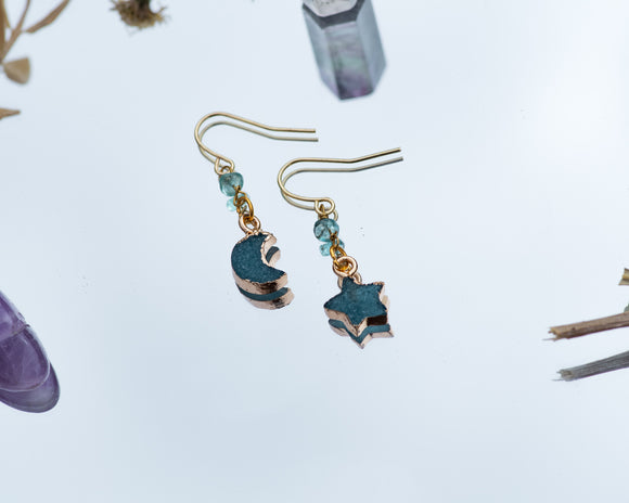 Apatite Nova Earrings