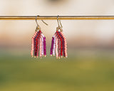 Mini Sweetheart Fringe Earrings