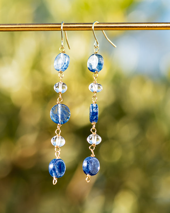 Poseidon Quartz Earrings