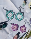 Energy Mandala Earrings