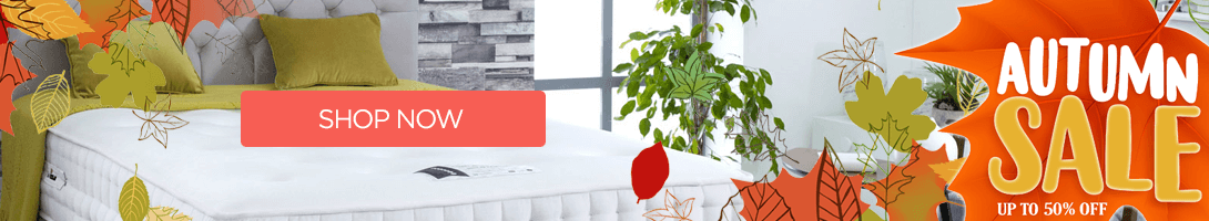Autummn bed sale now on save 50%