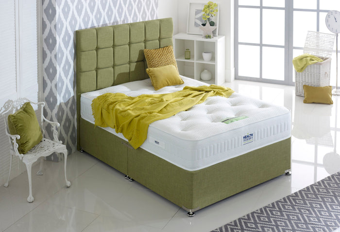 Bronze Bed Set - Mattress & Divan Bed Base