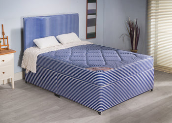 Edingbrugh Bed Set - Base, Mattress & Headboard