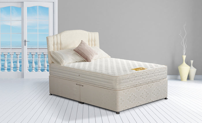 Kent Bed Set - Divan Base & Mattress