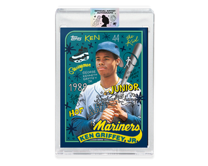 Ken Griffey Jr by Sophia Chang Silver Autograph / Edition of 10