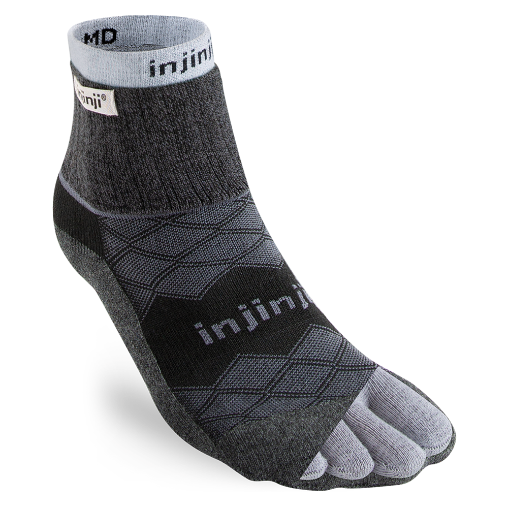 Injinji LINER + RUNNER Mens Mini-Crew